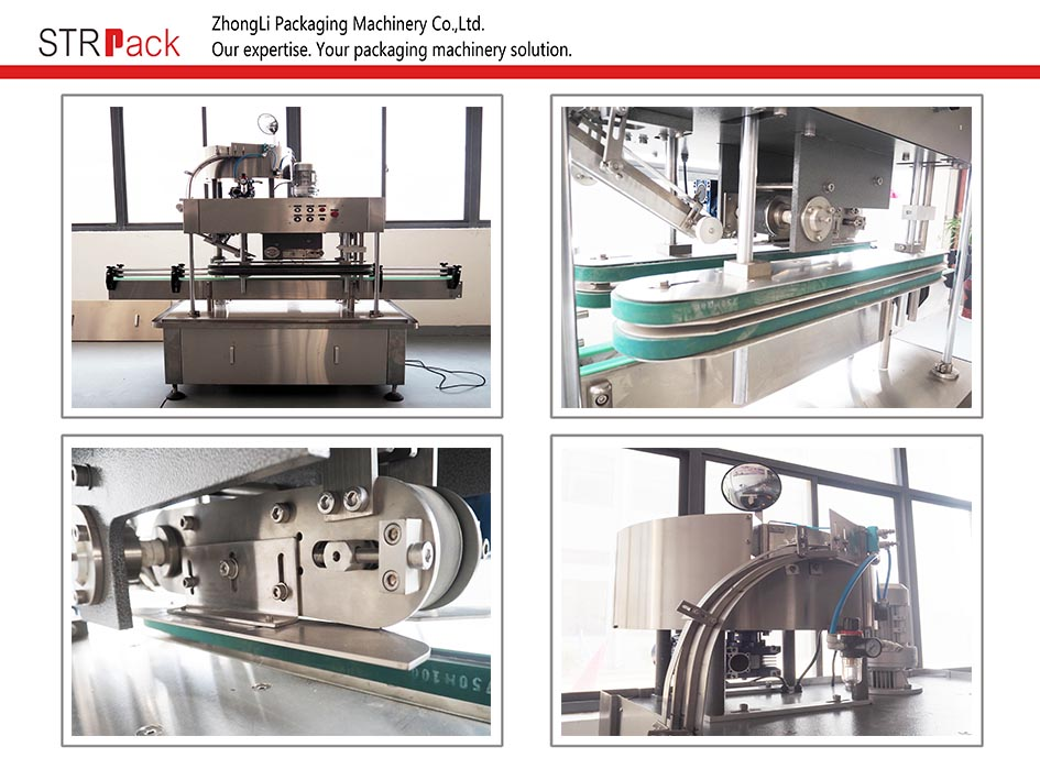 Automatic Linear Capping Machine (Press Cap)
