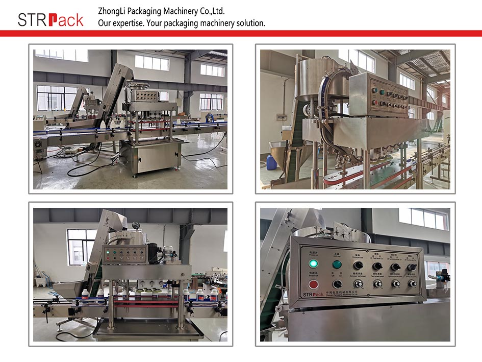 Automatic Linear Capping Machine (Screw Cap)